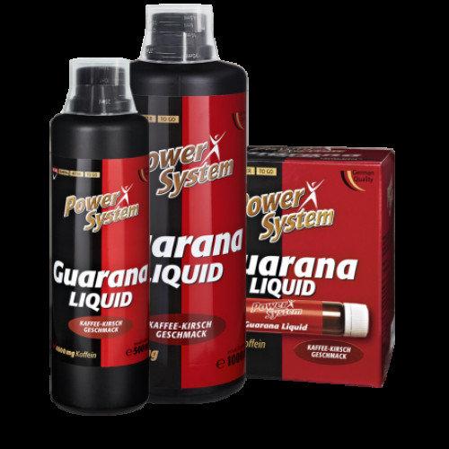 Энергетические добавки с гуараной