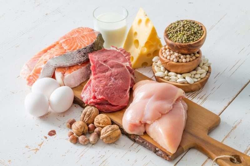 еда для набора мышечной массы