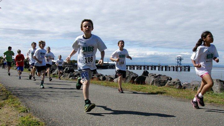 детский бег