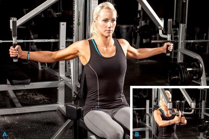упражнения на грудные мышцы в домашних условиях
