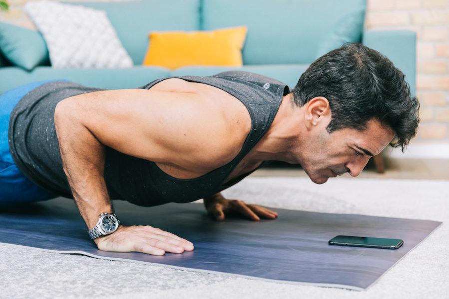 упражнения на грудные мышцы для мужчин