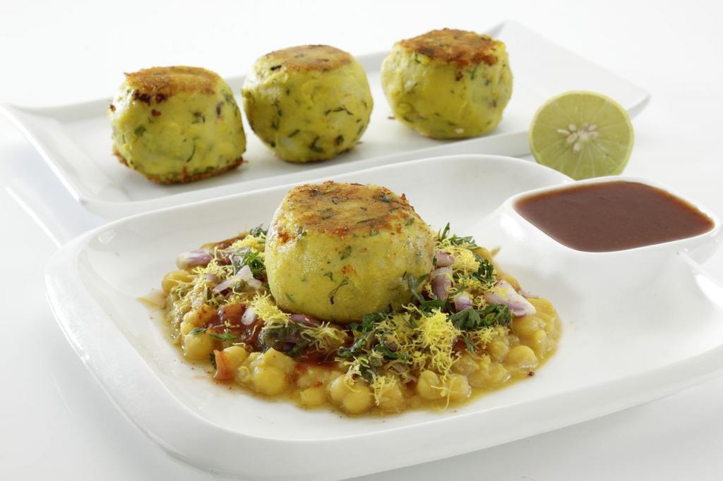 картофель на массонаборе