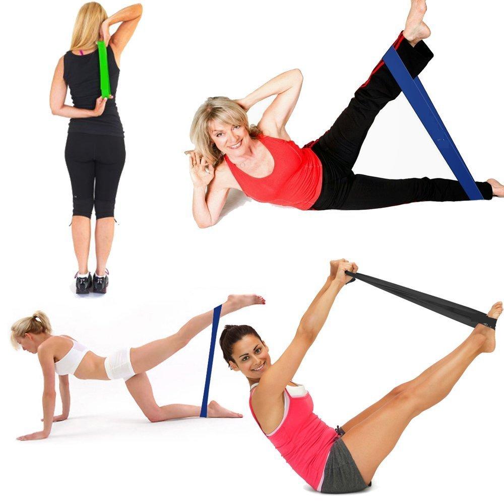 Использование фитнес-резинки