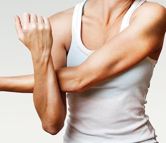 упражнения чтобы убрать с рук жир