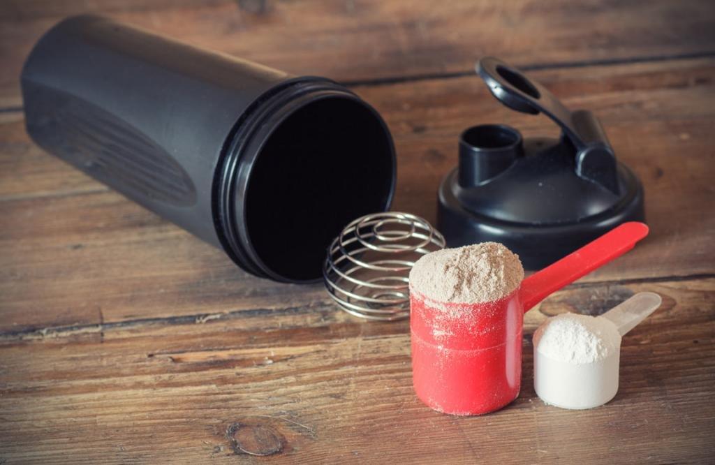 Применение протеиновой добавки