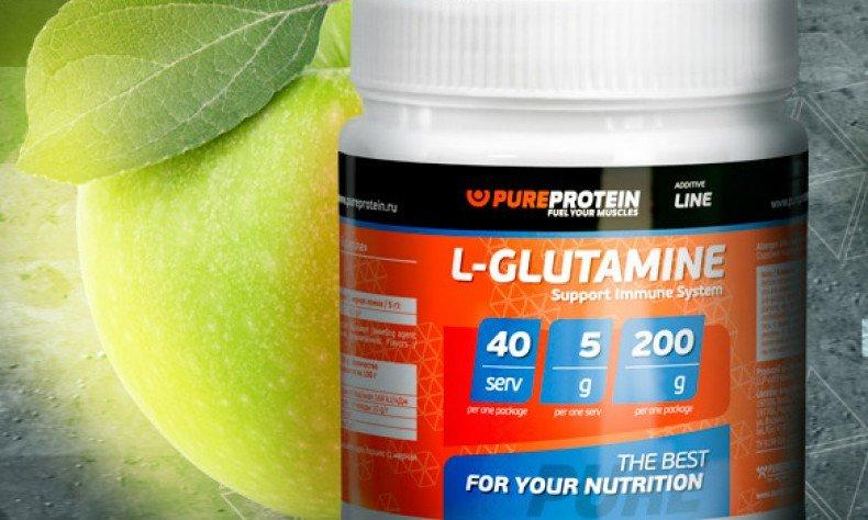 L-глютамин для спортсменов