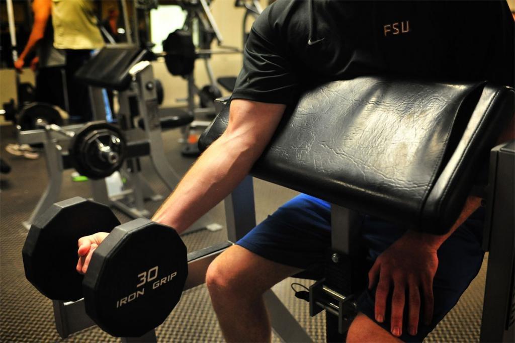 нагрузка мышц