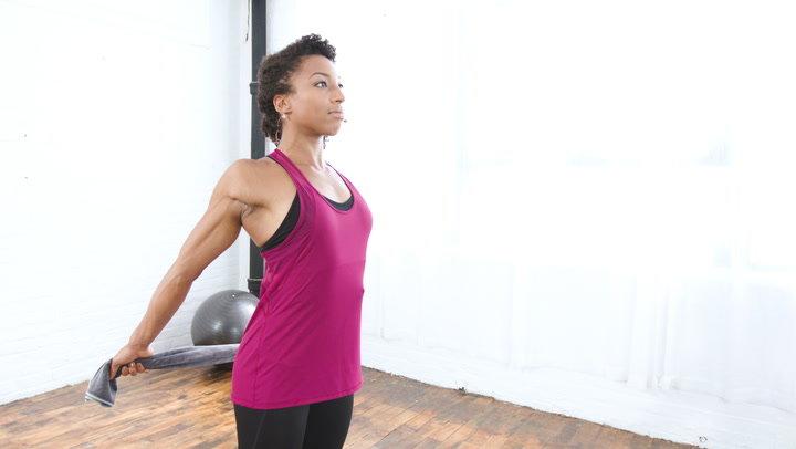 упражнения с гирей для спины и груди