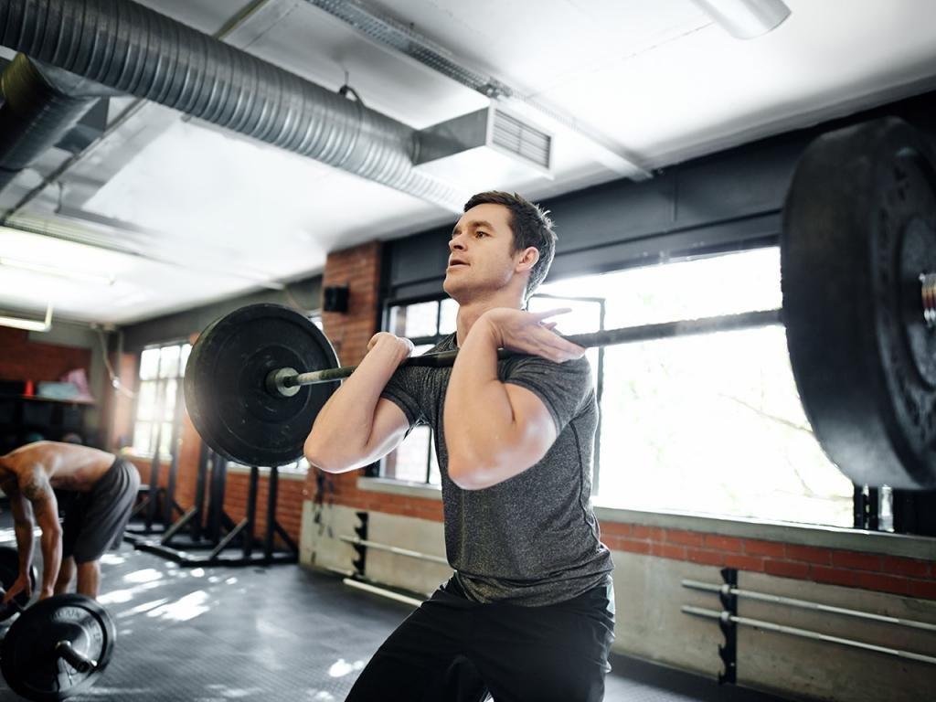 мужские тренировки на массу