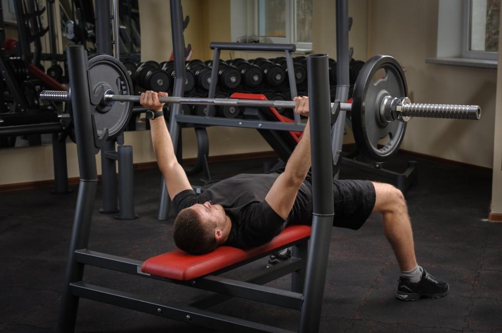 базовые упражнения на массу