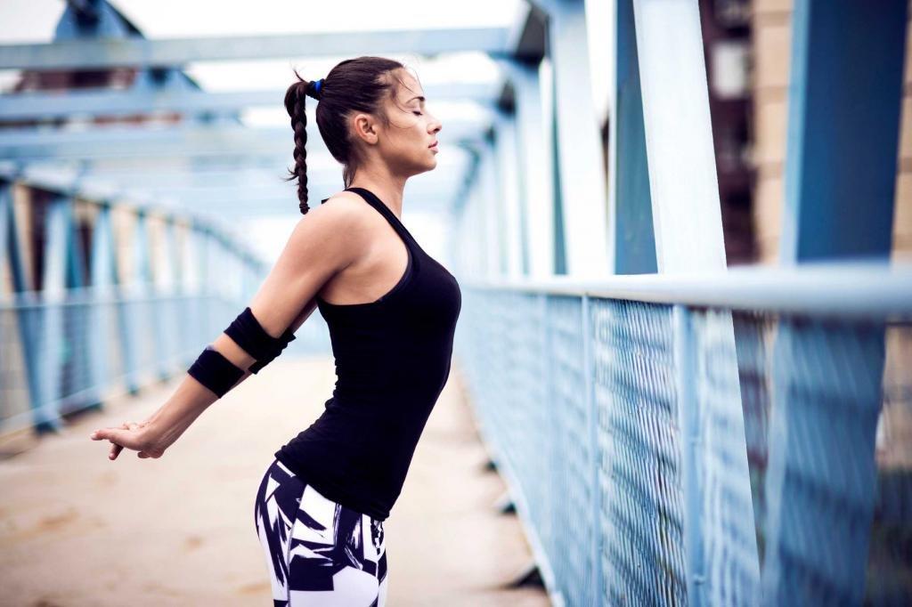 растяжка после упражнений