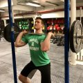 Жим штанги с груди стоя: техника выполнения