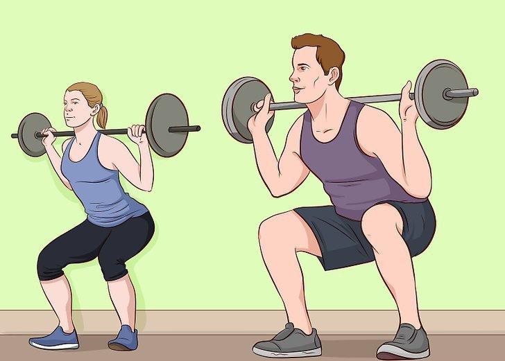 в какой день какие мышцы тренировать