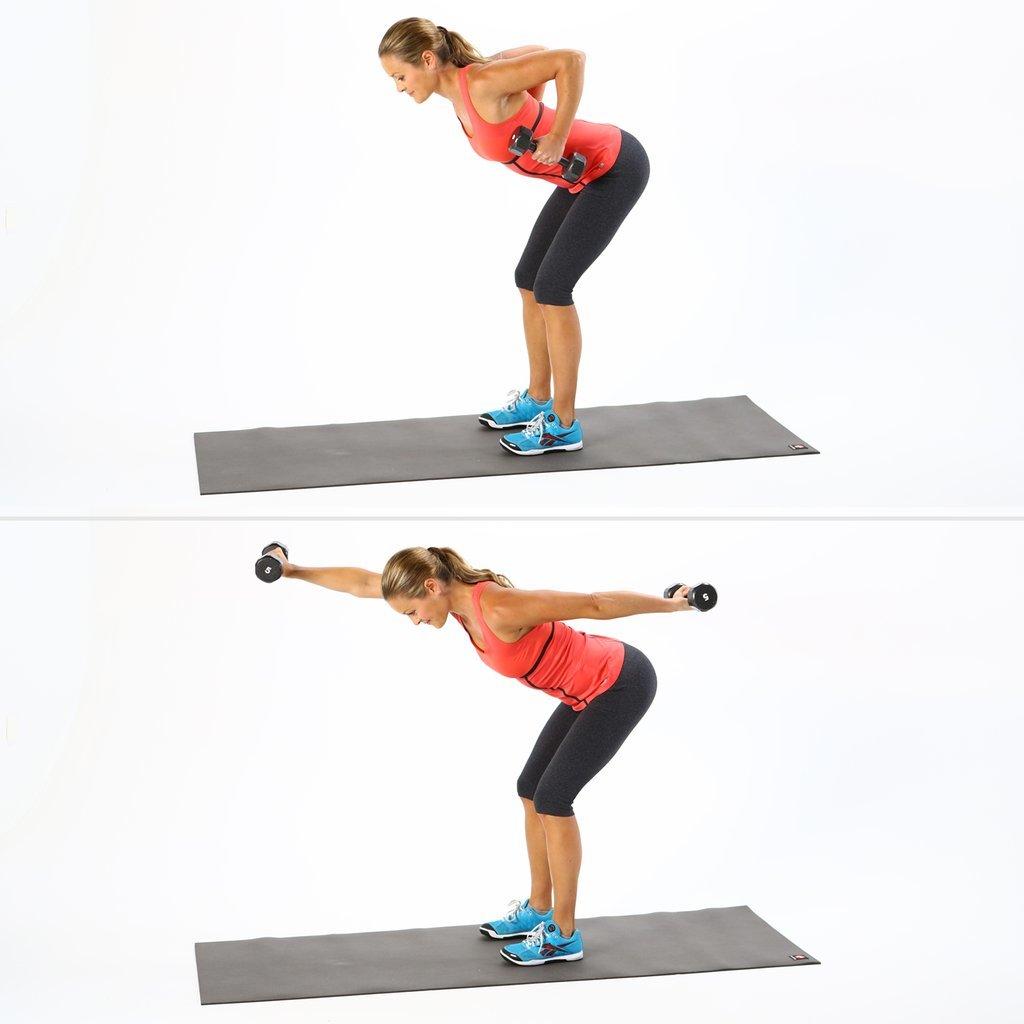 Проработка мышц спины