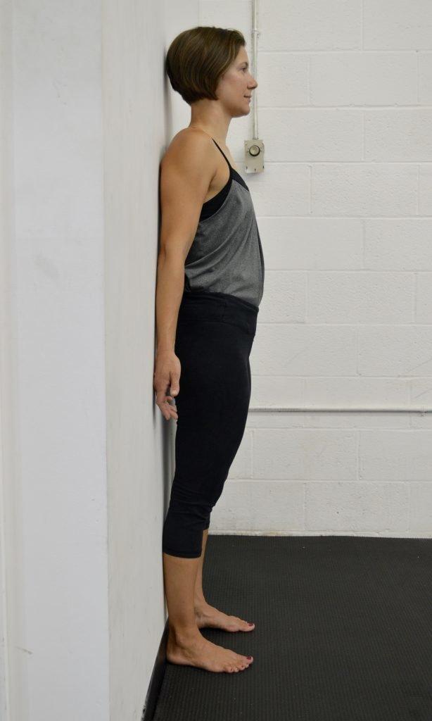 правильность выполнения упражнения