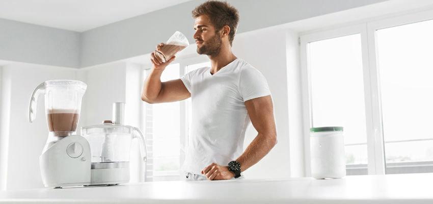 Прием протеина для набора мышечной массы