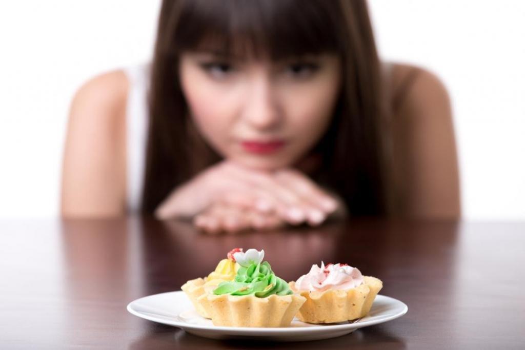 Нельзя есть сладкое