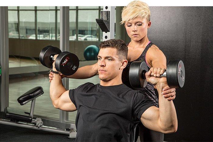 тренировка спортсмена
