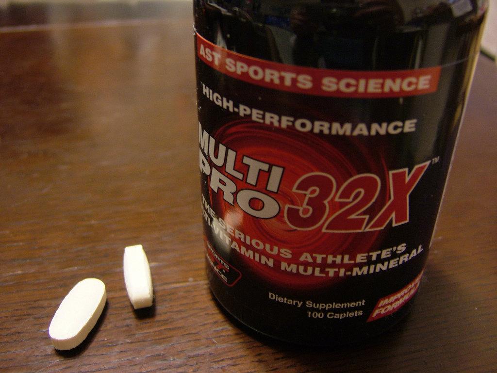 витамины для массы
