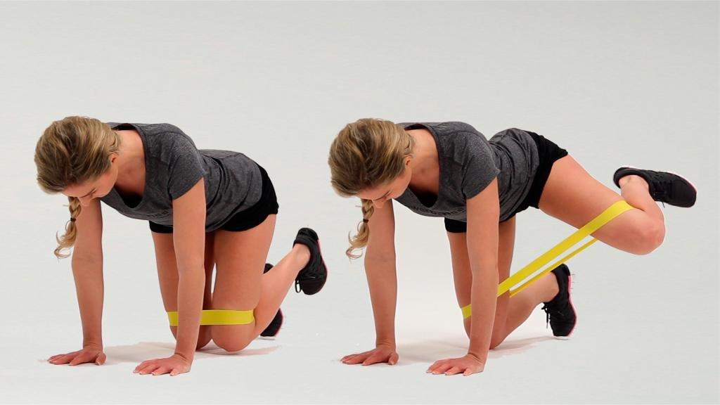 Резинки для выполнения упражнений