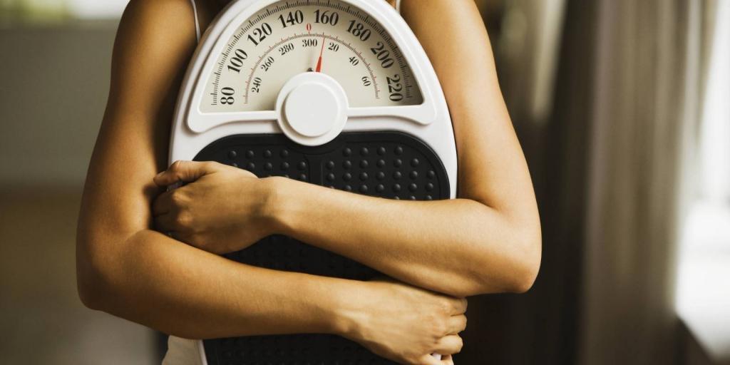 взвешивание во время похудения