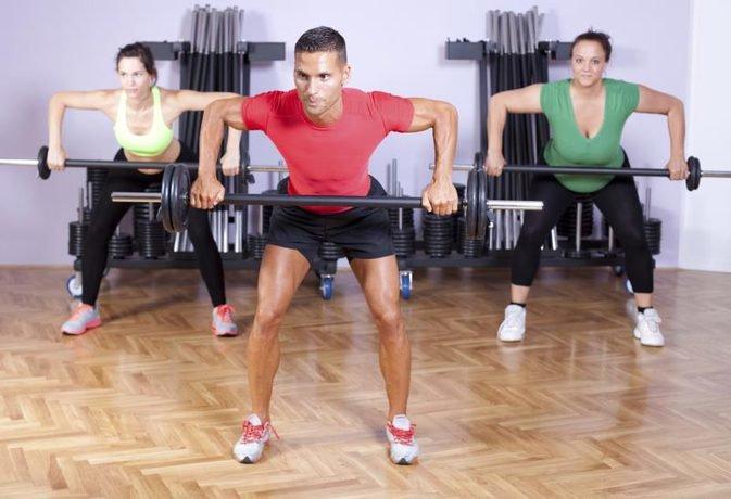 Упражнения со штангой для всех