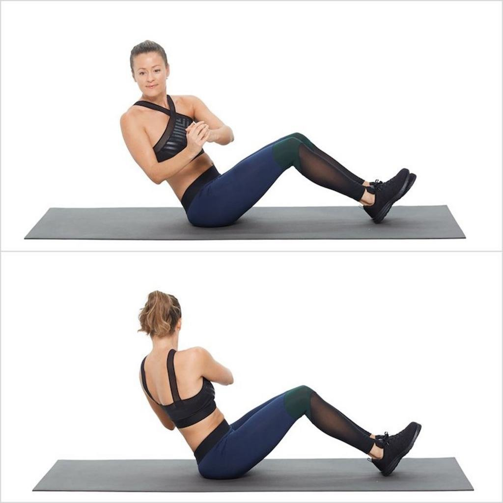 Как правильно делать упражнения на пресс