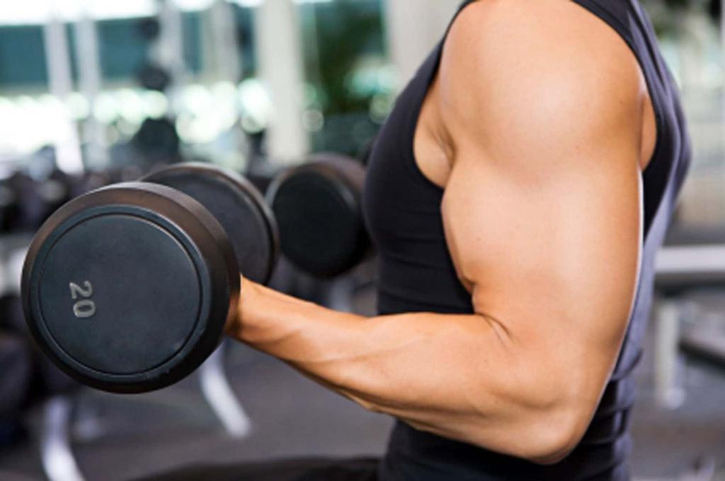 быстро набрать мышечную массу