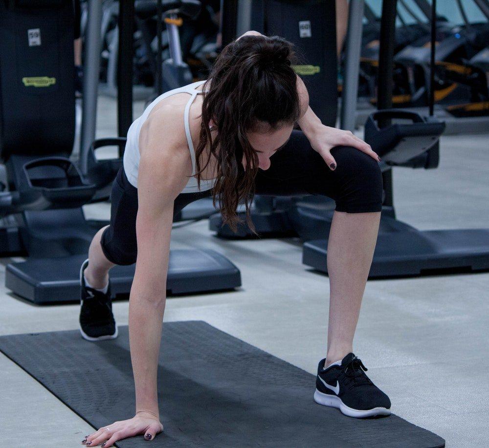 Растяжка перед упражнением