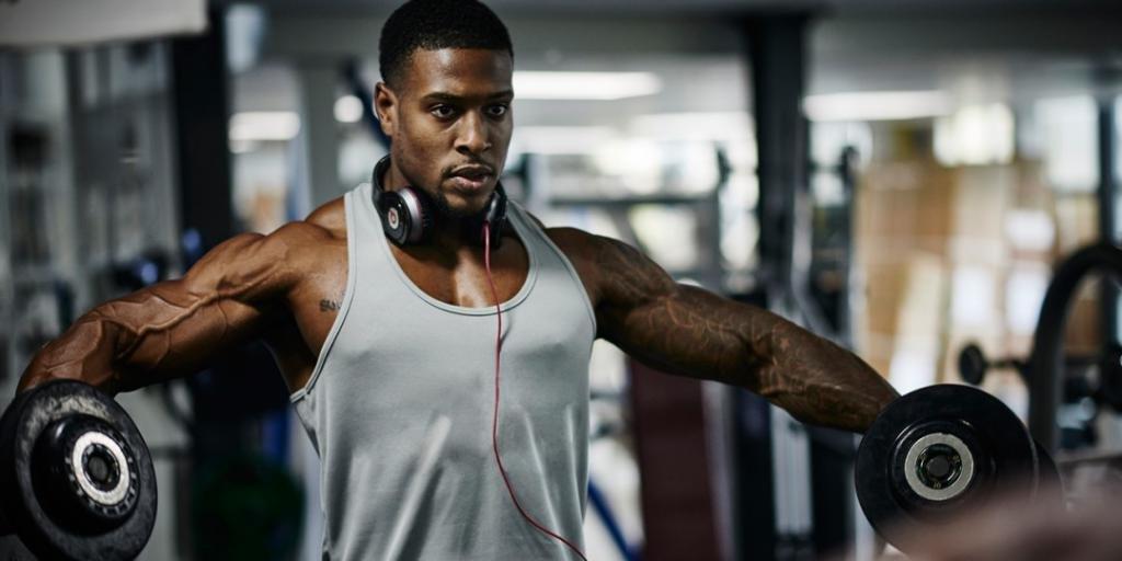 Проработка мышц