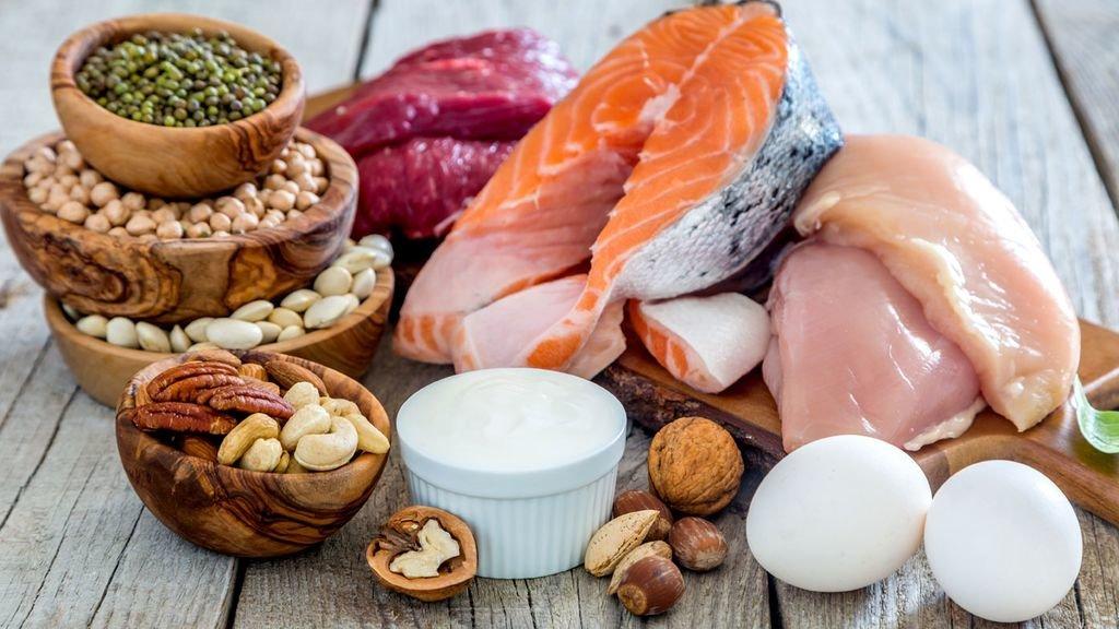 Протеин в продуктах
