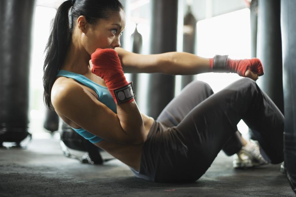 активная тренировка