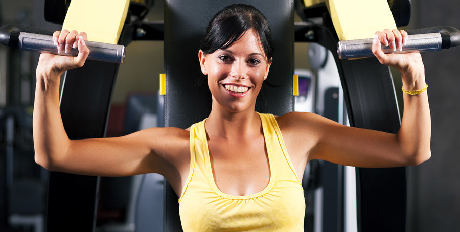 Баттерфляй для грудных мышц