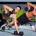 Тренировка на верхнюю часть тела для женщин дома в зале