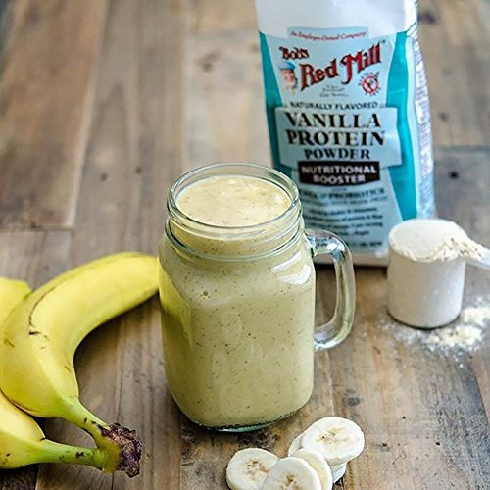 белковая смесь с бананом рецепт