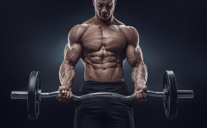 цель - накачать мышцы