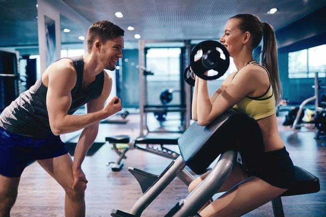 Все упражнения в тренажерном зале