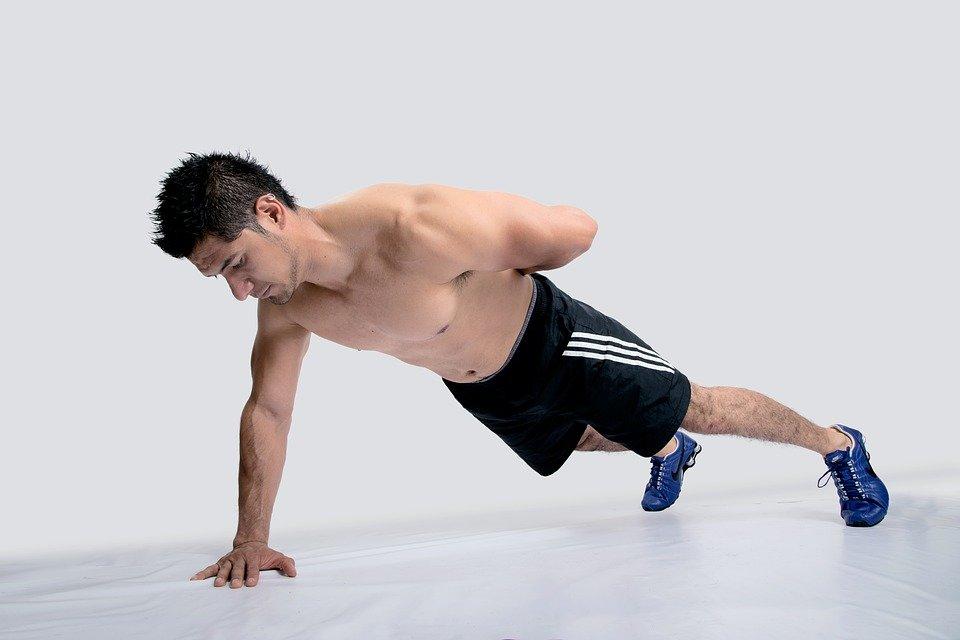 тренировка атлета