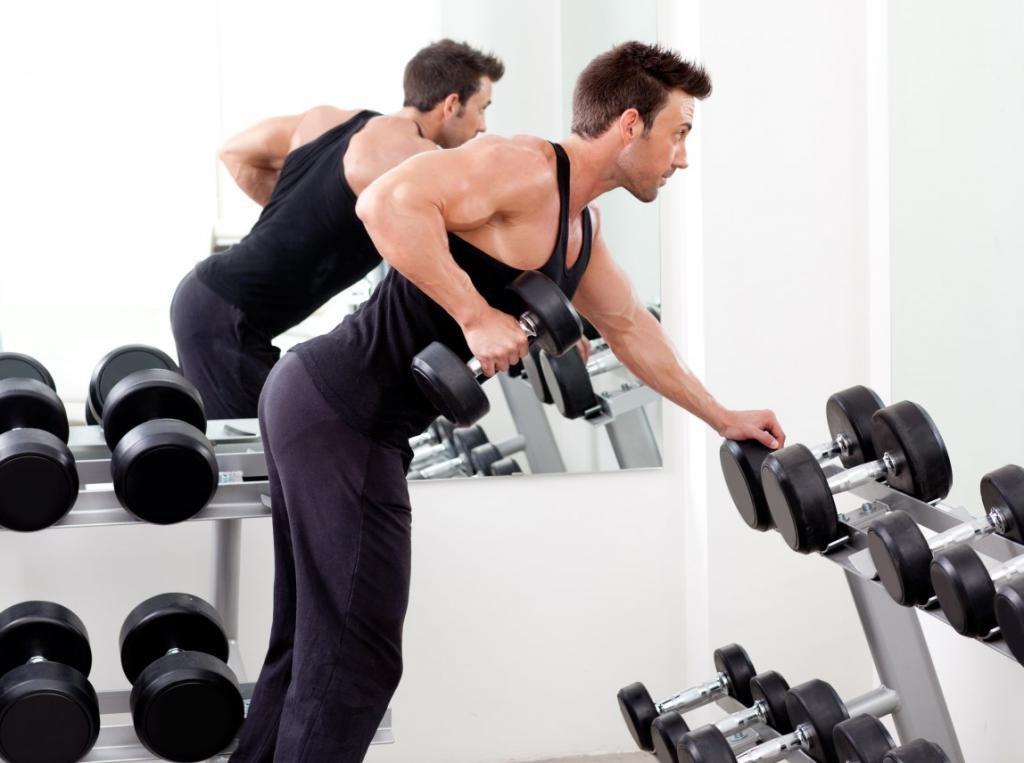 Программа тренировки для мужчин: мышечная масса