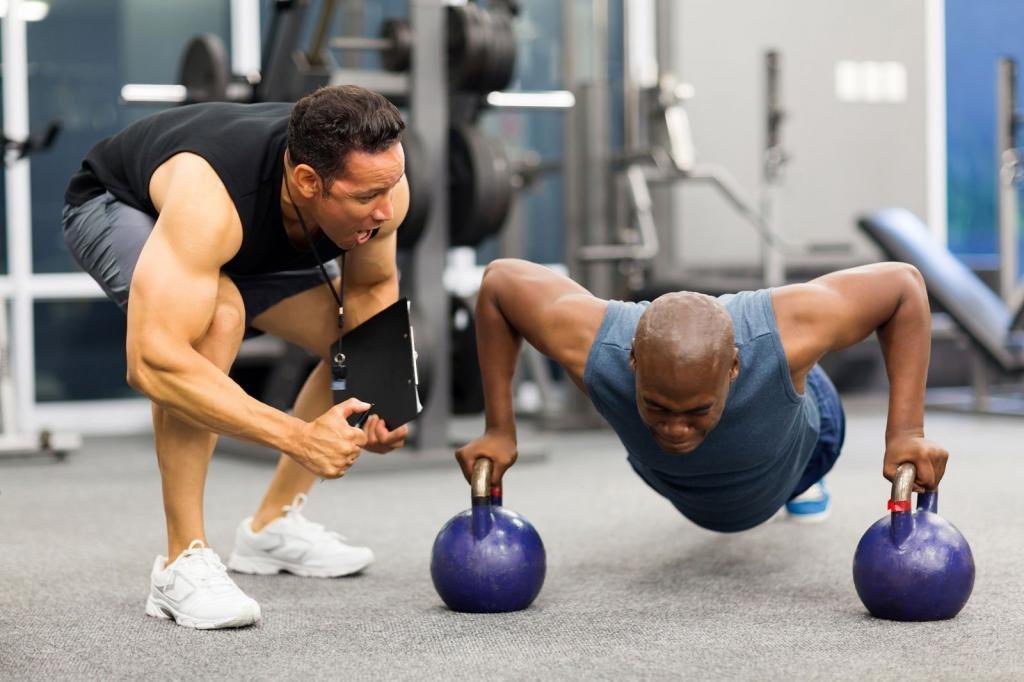 Набор массы для мужчин: программа тренировок