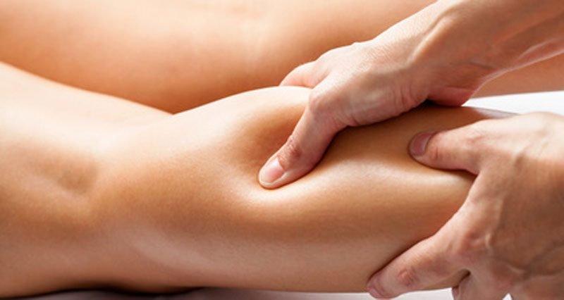 Спортивный массаж с захватом