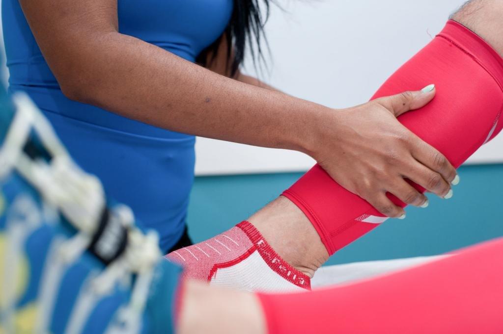 Техника спортивного массажа