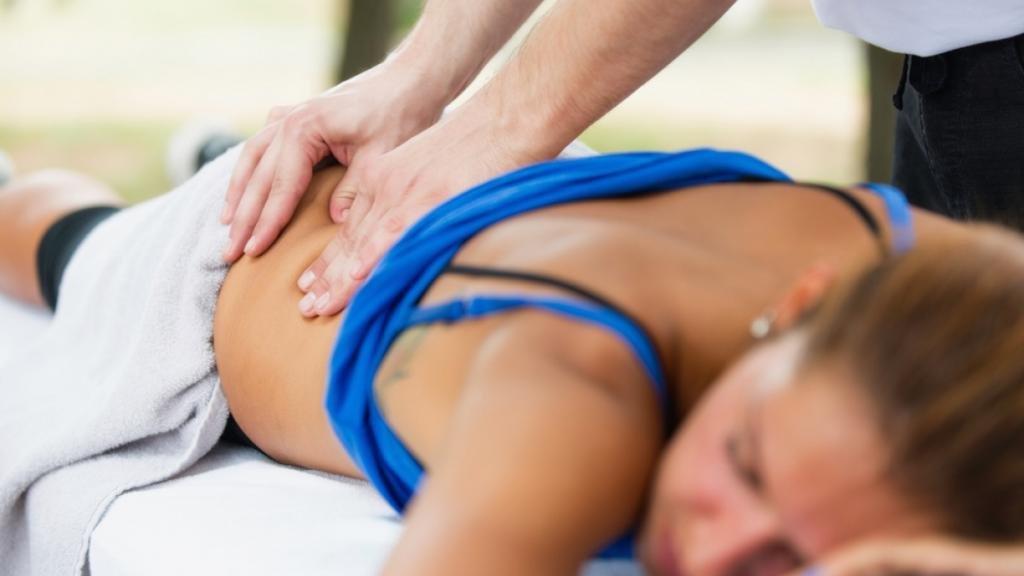 Приемы спортивного массажа