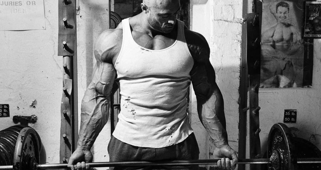 спортсмен на тренировке