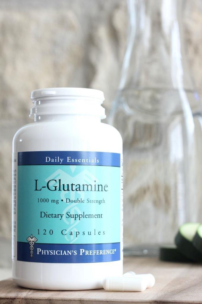 L-Glutamine 1000 mg 120 Capsules