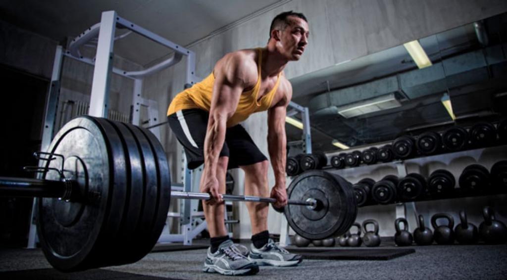 Тренировка в спортивном зале
