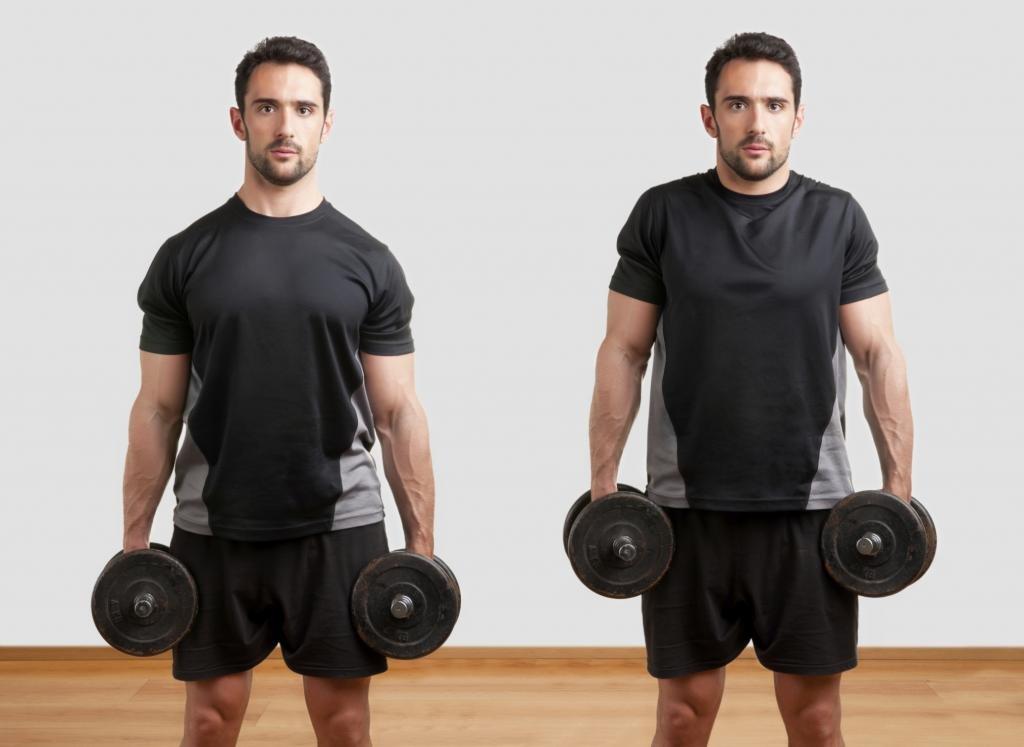 как накачать шею мужчине