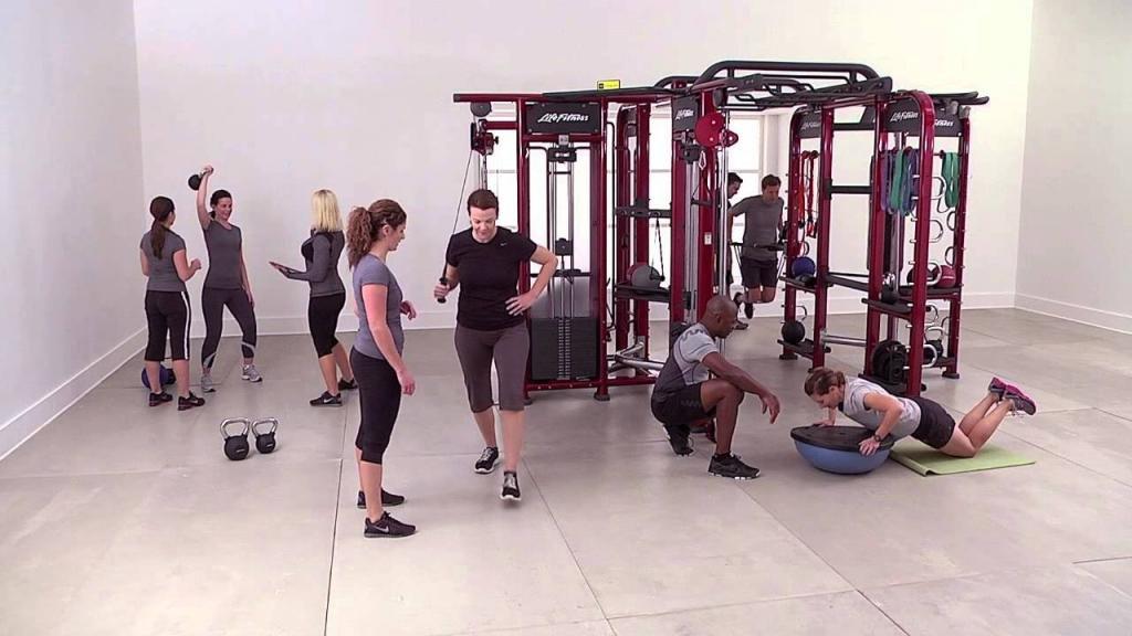 групповая тренировка