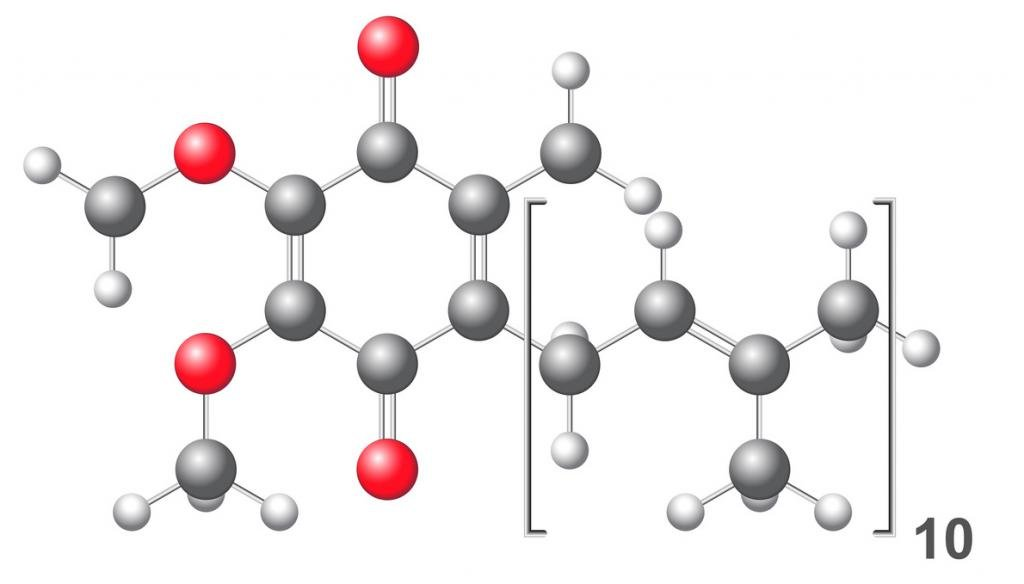 Структурная формула коэнзима q10