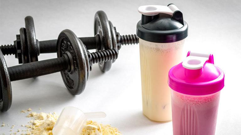 похудение с помощью протеина
